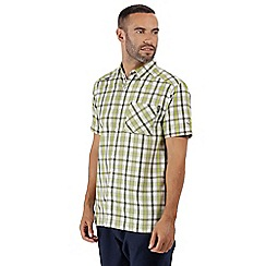 Regatta - Green 'Mindano' short sleeves shirt