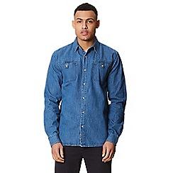 Regatta - Blue 'Barden' long sleeved shirt