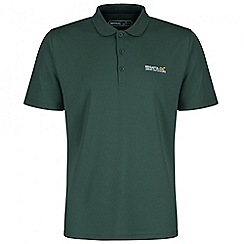 Regatta - Dark green Maverik polo shirt