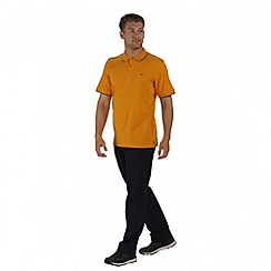Regatta - Yellow Kaine polo shirt