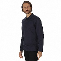 Regatta - Blue 'Pierce' rugby shirt