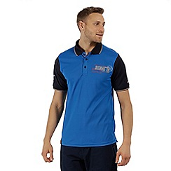 Regatta - Blue 'Tremont' polo shirt