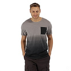 Regatta - Grey 'Tyren' ombre t-shirt