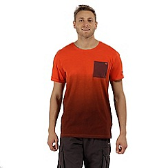 Regatta - Orange 'Tyren' ombre t-shirt