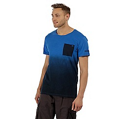 Regatta - Blue 'Tyren' ombre t-shirt