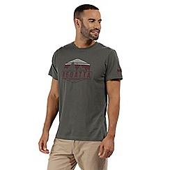 Regatta - Grey 'Cline' print t-shirt