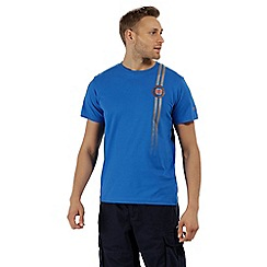 Regatta - Blue 'Cline' print t-shirt