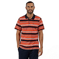 Regatta - Orange 'Pieran' polo shirt