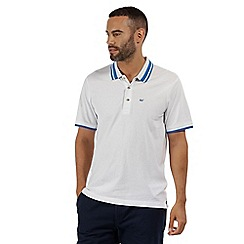 Regatta - white 'Talcott' polo shirt