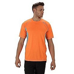 Regatta - Orange 'Volito' technical t-shirt