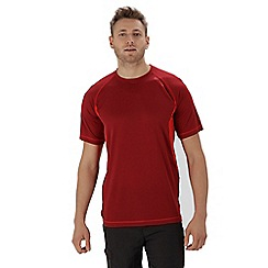 Regatta - Red 'Volito' technical t-shirt