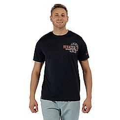 Regatta - Blue 'Tancredo' print t-shirt