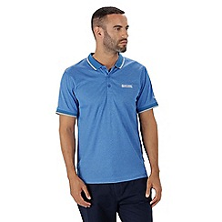 Regatta - Blue 'Remex' polo shirt