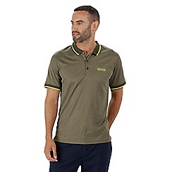 Regatta - Green 'Remex' polo shirt