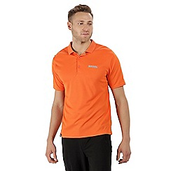Regatta - Orange 'Maverick' polo shirt