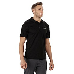 Regatta - Black 'Maverick' polo shirt