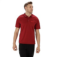 Regatta - Red 'Maverick' polo shirt