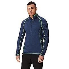 Regatta - Blue 'Yonder' half zip top