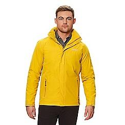 Regatta - Yellow 'Matt' waterproof shell jacket