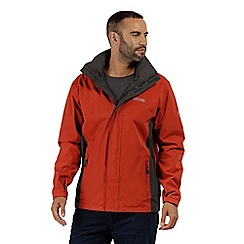 Regatta - Orange 'Matt' waterproof shell jacket