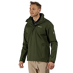 Regatta - Green 'Matt' waterproof shell jacket