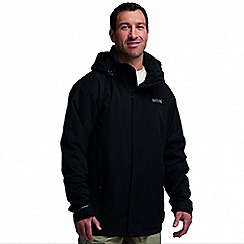Regatta - Black matt waterproof jacket