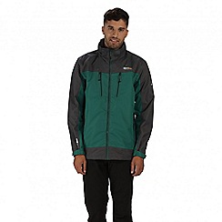 Regatta - Green calderdale waterproof jacket