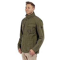 Regatta - Green 'Eldric' waterproof jacket