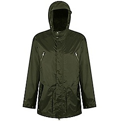 Regatta - Green 'Manford' waterproof parka jacket