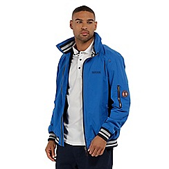 Regatta - Blue 'Marvin' waterproof jacket
