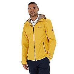Regatta - Yellow 'Mackeson' waterproof jacket