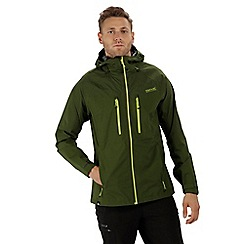 Regatta - Green 'Montegra' waterproof jacket