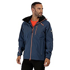 Regatta - Blue 'Oklahoma' waterproof jacket