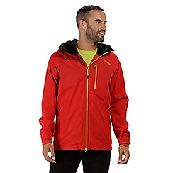 Regatta - Red 'Oklahoma' waterproof jacket