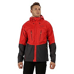 Regatta - Red 'cross penine' waterproof jacket