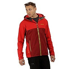Regatta - Red 'Semita' waterproof jacket
