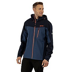 Regatta - Blue 'Birchdale' waterproof jacket