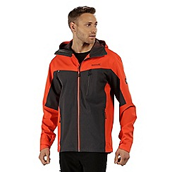 Regatta - Orange 'Birch dale' waterproof jacket