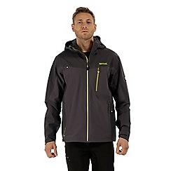 Regatta - Grey 'Birch dale' waterproof jacket