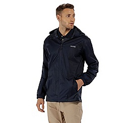 Regatta - Blue 'pack it' waterproof jacket