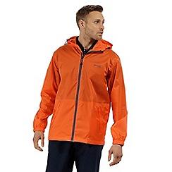 Regatta - Orange 'pack it' waterproof jacket