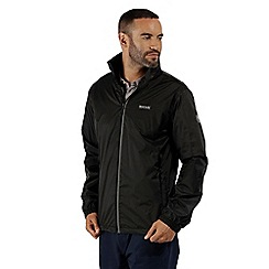 Regatta - Black 'Lyle' waterproof jacket