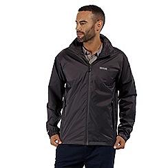 Regatta - Dark grey 'Lyle' waterproof jacket