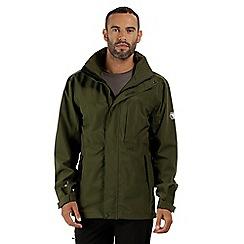 Regatta - Green 'Northfield' stretch waterproof jacket