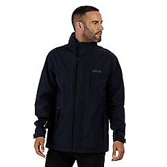Regatta - Blue 'Northfield' stretch waterproof jacket