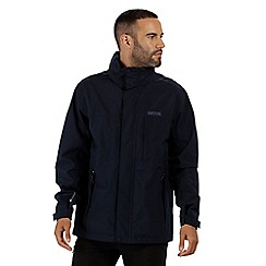 Regatta - Black 'Northfield' stretch waterproof hooded jacket
