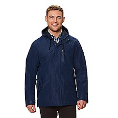 Regatta - Blue 'Boman' waterproof hooded jacket