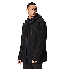 Regatta - Black 'Boman' waterproof hooded jacket