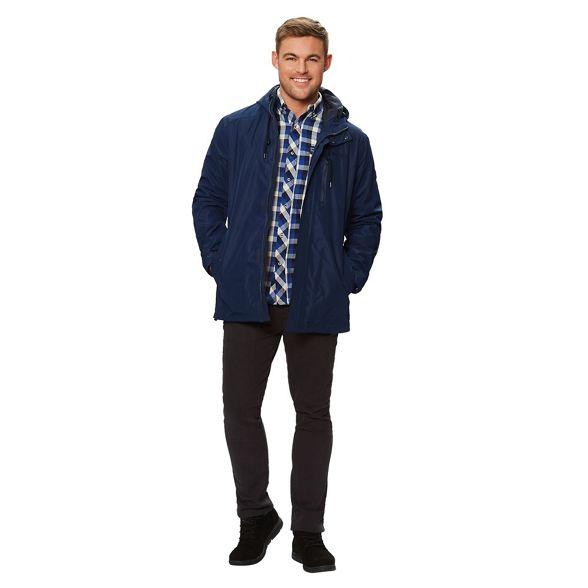 waterproof hooded Blue 'Boman' Regatta jacket wxEft6