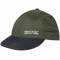 Regatta - Green pack it peak cap